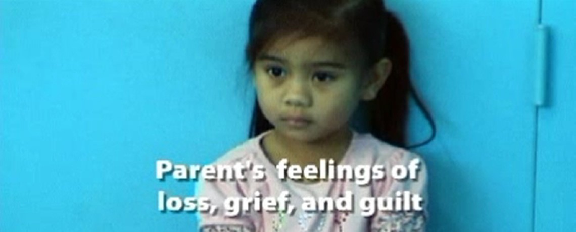 Parent's Feeling of Loss, Grief and Guilt